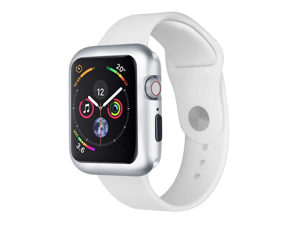 Innocent Durable Magnetic Case Apple Watch Series 4/5 40mm - Silver