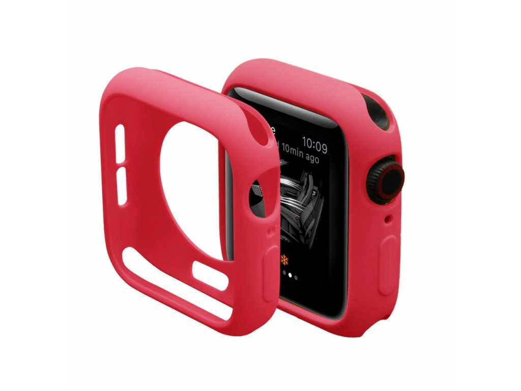 Innocent Silicone Case Apple Watch Series 4/5 44mm - Red