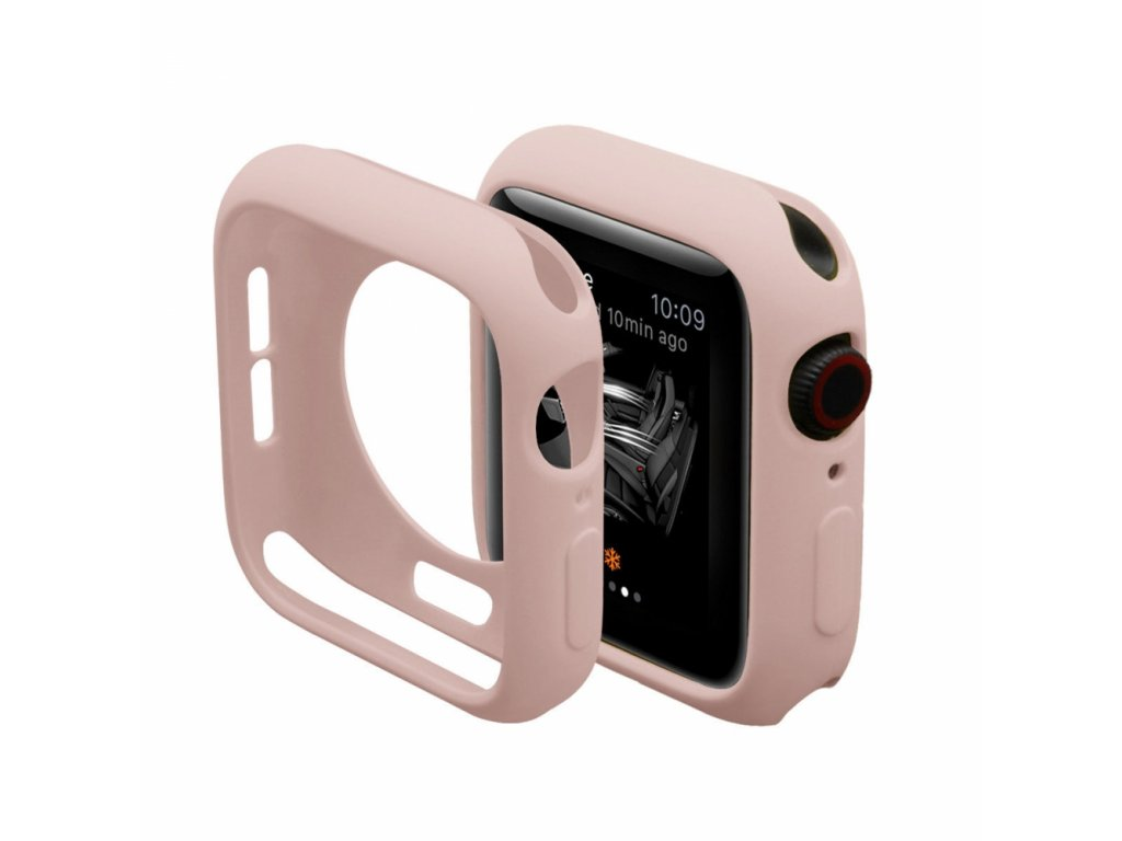 Innocent Silicone Case Apple Watch Series 4/5 44mm - Pink sand
