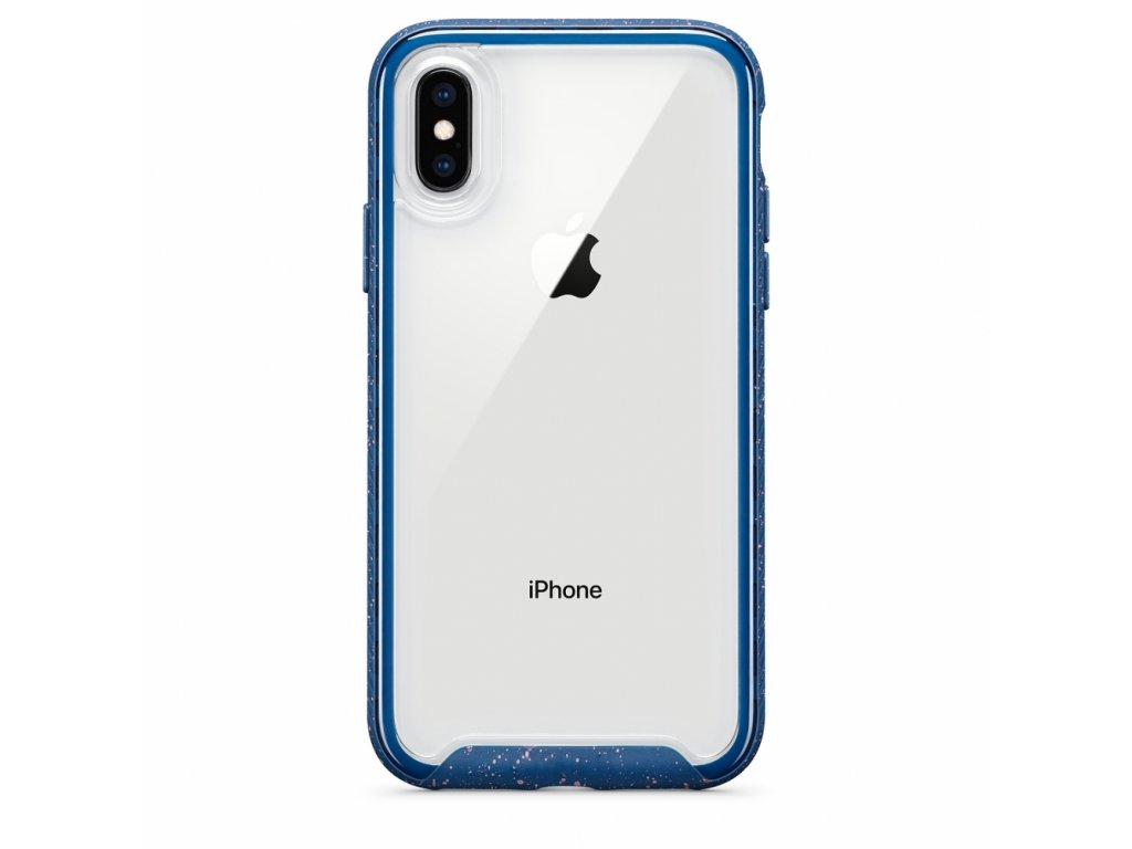 Innocent Splash Case iPhone X/XS - Navy blue