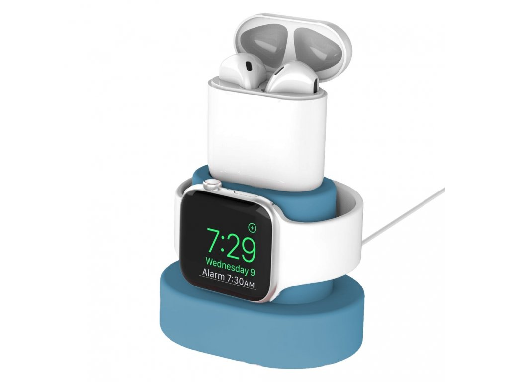 Innocent Watch & AirPods Charging Dock - Blue
