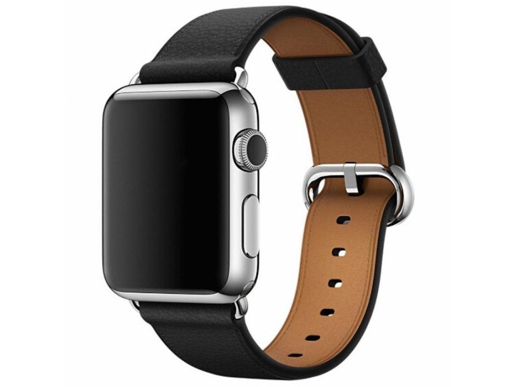 Innocent Modern Buckle Band Apple Watch 42/44mm - Black