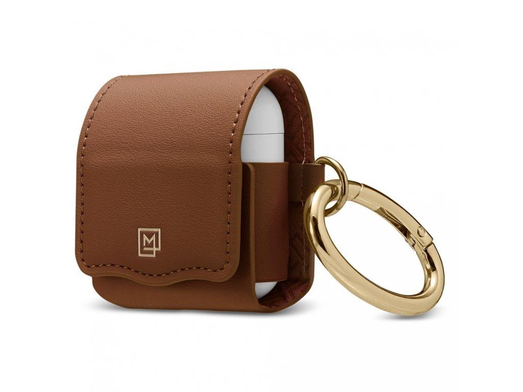 Spigen La Manon AirPods Leather Case - Brown