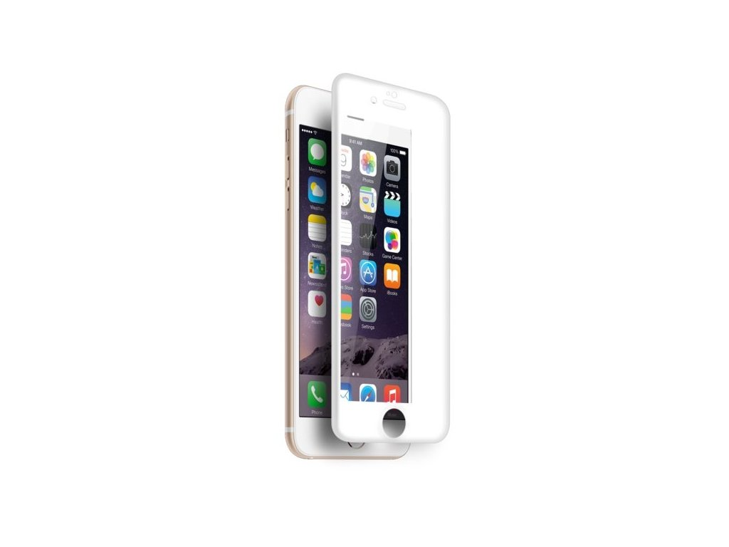 MyScreen PROTECTOR 3D FullScreen Diamond Glass Protector 6s Plus/6 Plus - White