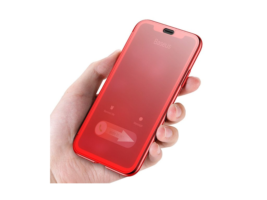 Baseus Touchable Case iPhone X/XS - Red