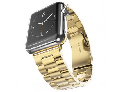 Innocent Folding Clasp Apple Watch Band 42/44mm - Gold