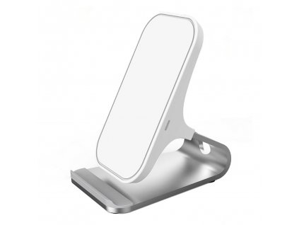 Fast Qi Wireless Stand Charger 10W - White