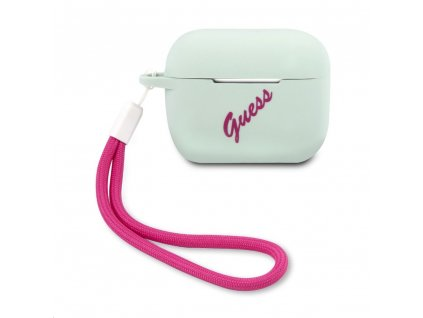 Guess Vintage Silicone Airpods Pro Case - Blue