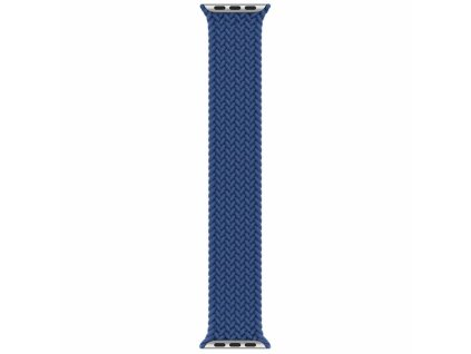 Innocent Braided Solo Loop Apple Watch Band 42/44mm - Navy Blue - XS (132MM)