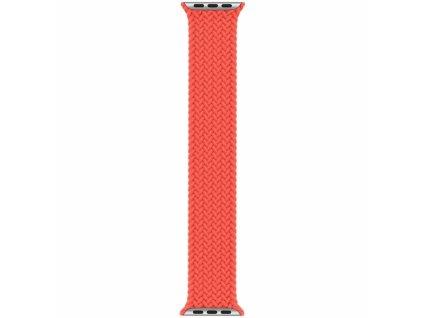 Innocent Braided Solo Loop Apple Watch Band 42/44mm - Orange - XS (132MM)