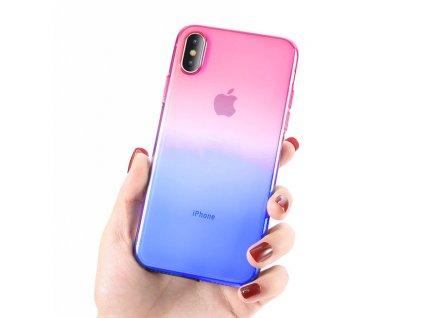 Innocent Rainbow Case iPhone 8/7 Plus - Pink - Blue