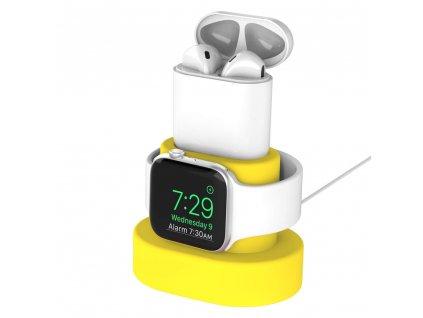 Innocent Watch & AirPods Charging Dock - Yellow