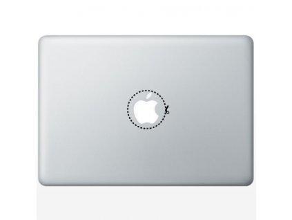 Apple Sticker Noznice