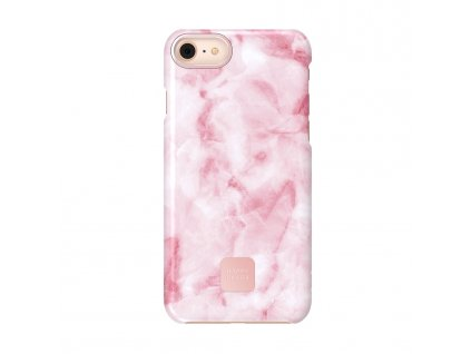 Happy Plugs Nude Case iPhone 7/8/SE 2020 - Pink Marble