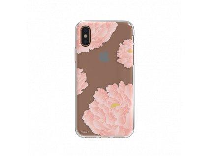 Flavr Pink Peonies Case iPhone X