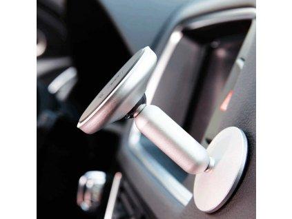 Baseus Bullet An On-Board Magnetic Bracket - Silver