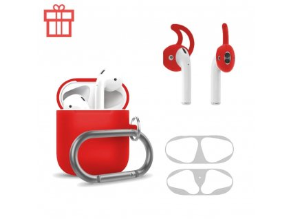 Innocent Airpods Carabiner Set  - Red