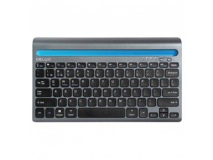 Wireless keyboard Delux K2201V dual mode BT / 2.4G