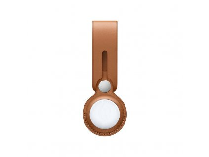 Innocent Leather Loop Case for AirTag - Brown