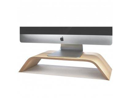 Woodmade Birch iMac and MacBook Stand