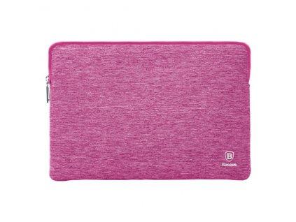 """Baseus Laptop Bag Waterproof Soft Sleeve MacBook Pro 15"""" - pink"""