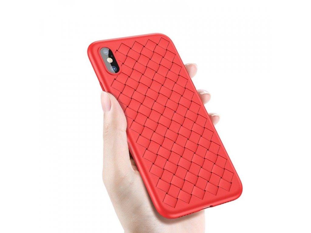 Baseus BV Weaving Case iPhone X - Red