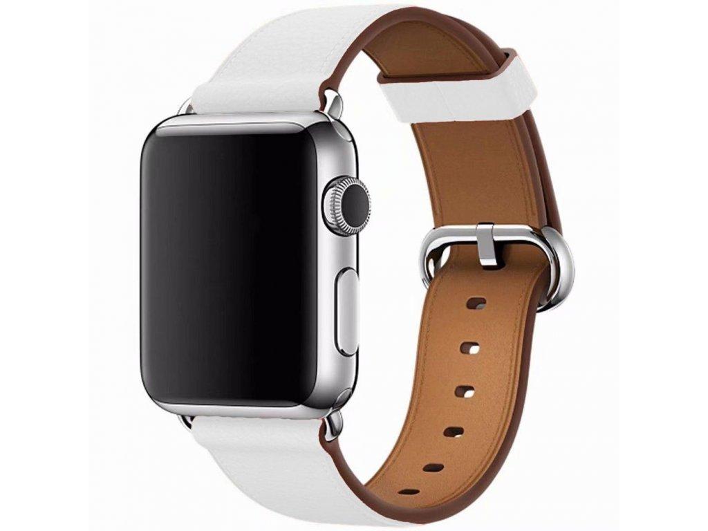 Innocent Modern Buckle Band Apple Watch 42/44mm - White