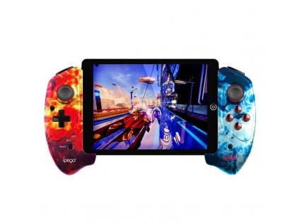 """iPega 9083 Bluetooth Extending Game Controller max 10"""" - Red / Blue"""