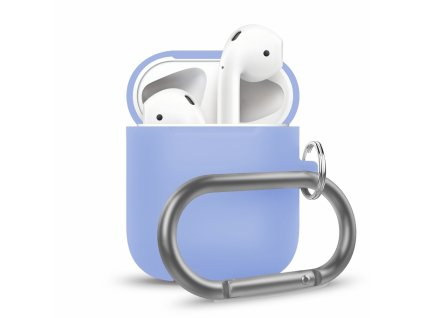 Innocent California Silicone AirPods Case with Carabiner - Blue