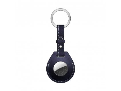 Innocent Luxury Ring Case for AirTag - Navy Blue