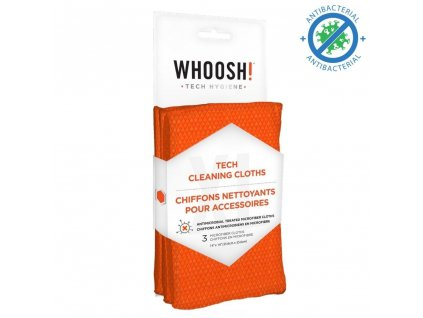 WHOOSH! Antimicrobial Microfiber Tech Cleaning Cloths - 3XL