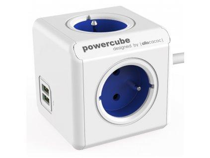 PowerCube Extended USB 1.5m - Blue