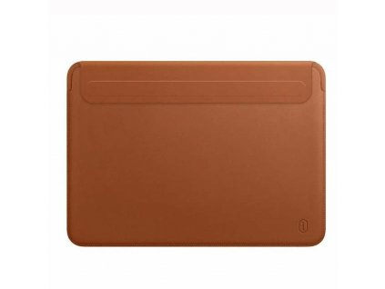 "PU Leather Carry HandCraft Sleeve MacBook Pro 15"" USB-C - Brown"