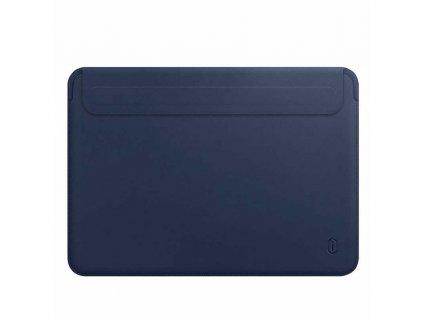 "PU Leather Carry HandCraft Sleeve MacBook Pro 15"" USB-C - Navy Blue"