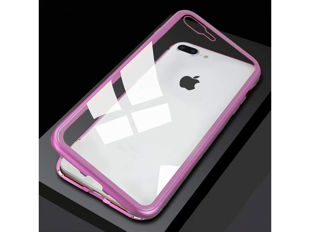 Innocent Durable Magnetic Case 9H iPhone 8/7 Plus - Pink