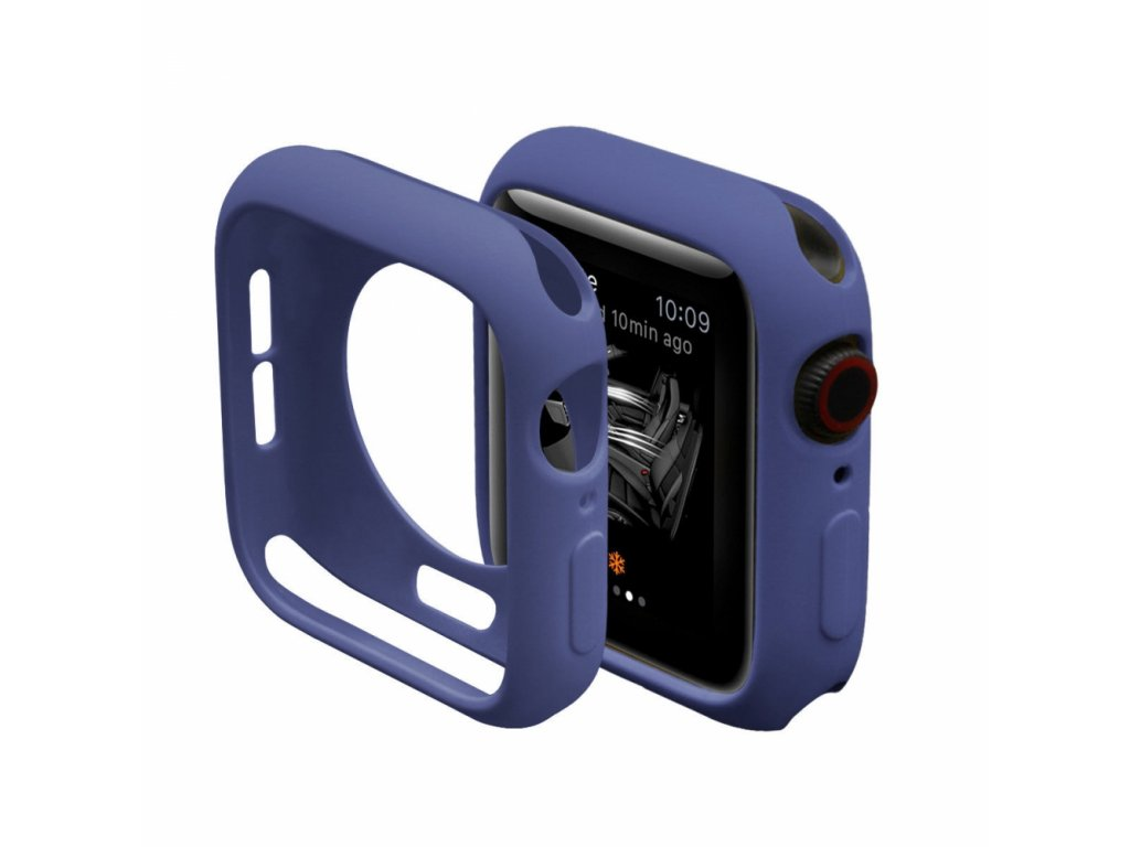Innocent Silicone Case Apple Watch Series 4/5 44mm - Navy blue