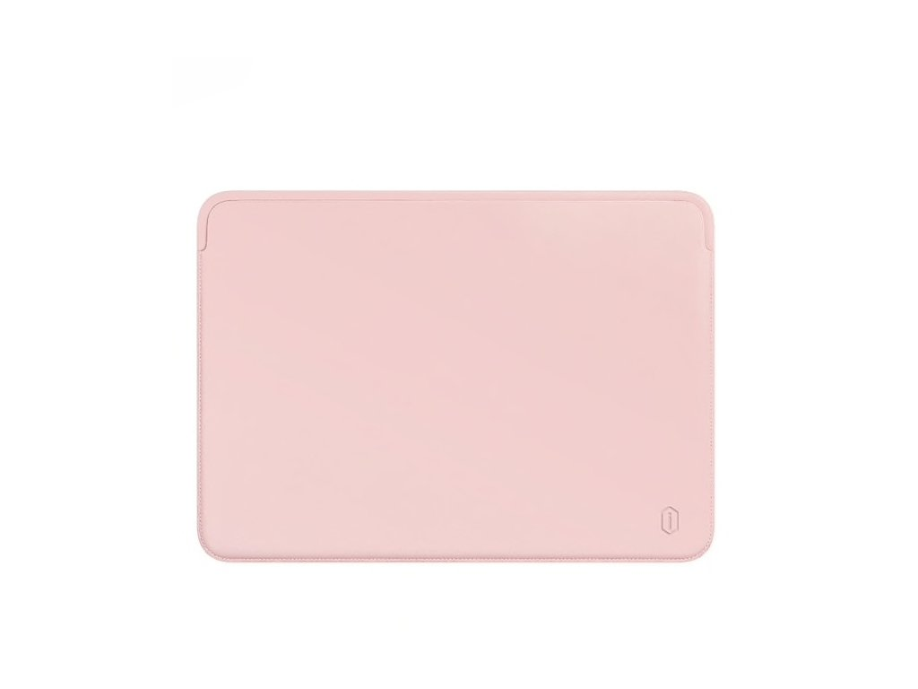 "Leather HandCraft Sleeve MacBook Pro 15"" USB-C - Pink"