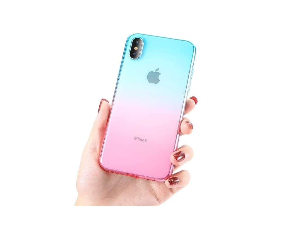 Innocent Rainbow Case iPhone XS Max - Pink - Mint