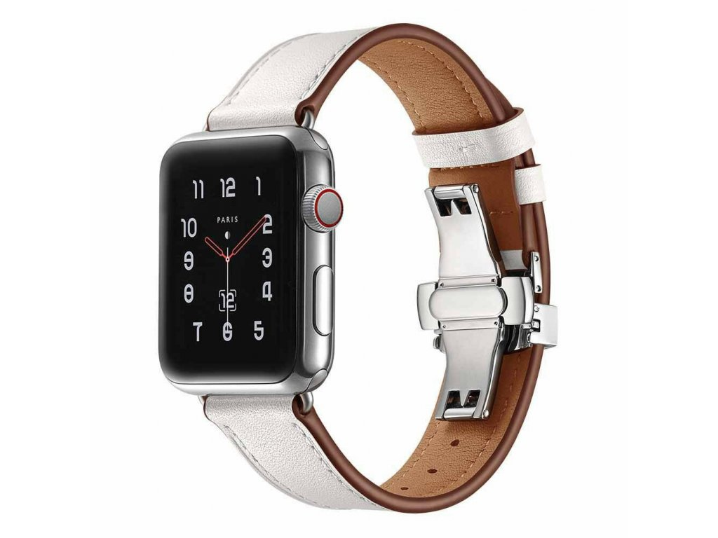 Innocent Butterfly Clutch Modern Band Apple Watch 42/44mm - White