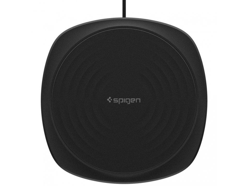 Spigen F305W Wireless Fast Charger - Black