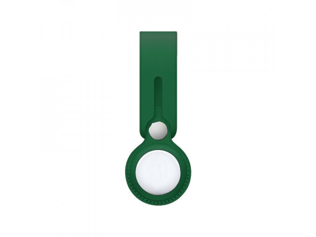 Innocent Leather Loop Case for AirTag - Green
