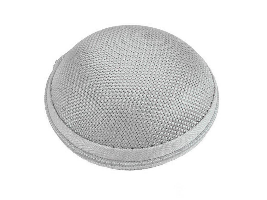 Innocent Macarons Earphones Hard Pouch - Silver