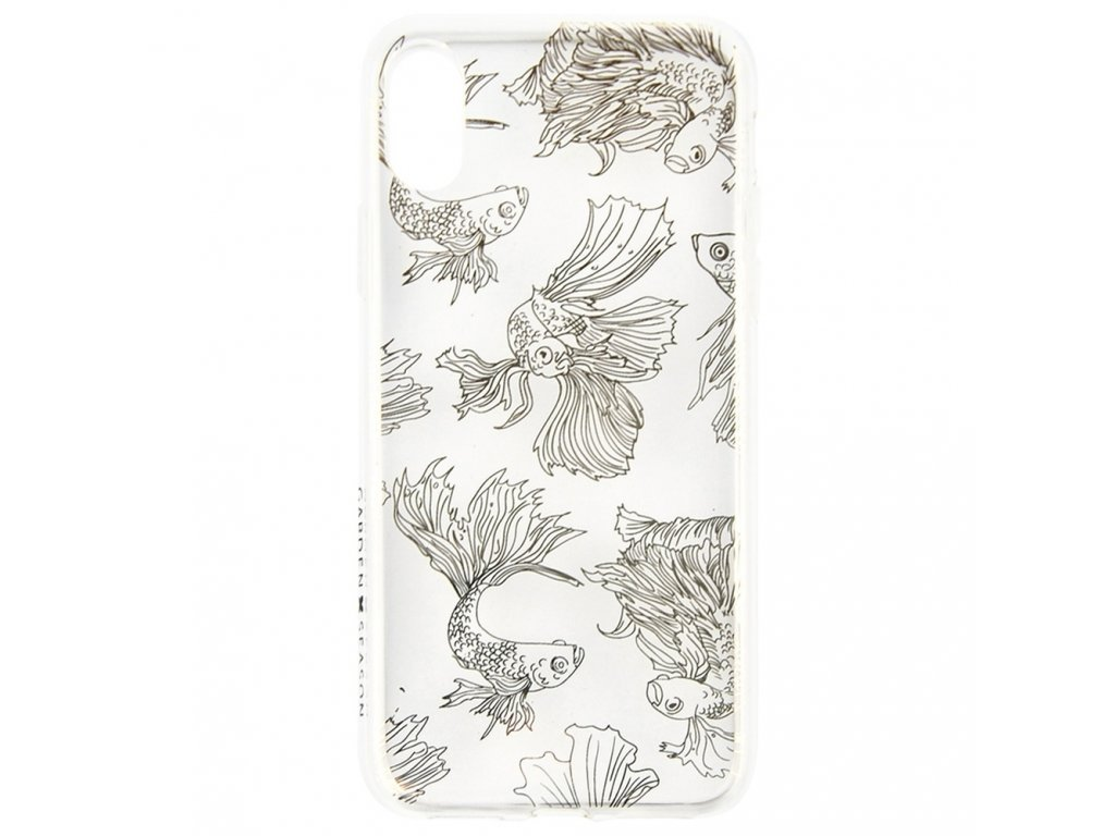 Innocent Garden Season Fish Case iPhone X