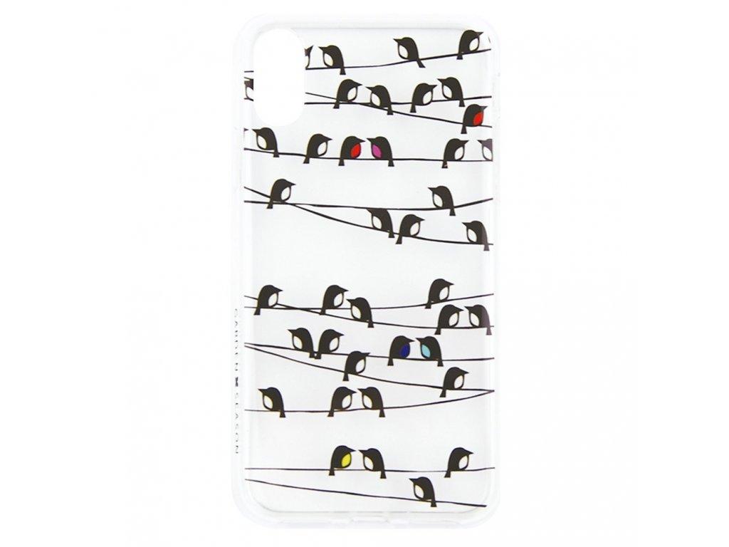 Innocent Garden Season Birds on Line Case iPhone X