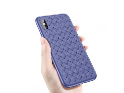 Baseus BV Weaving Case iPhone X - Blue