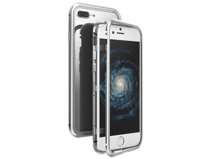 Innocent Durable Magnetic Case 9H iPhone 8/7 Plus - Silver