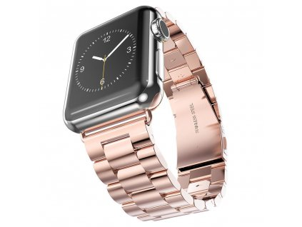 Innocent Folding Clasp Apple Watch Band 42/44mm - Rose gold