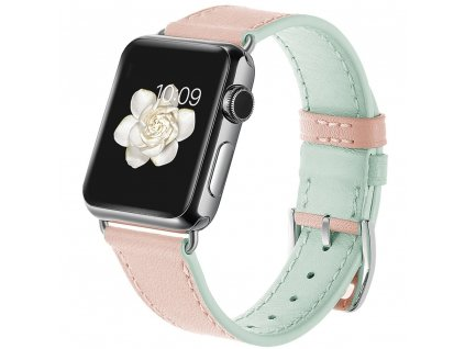 Innocent Classic Buckle Band Apple Watch 42/44mm - Pink/ Mint