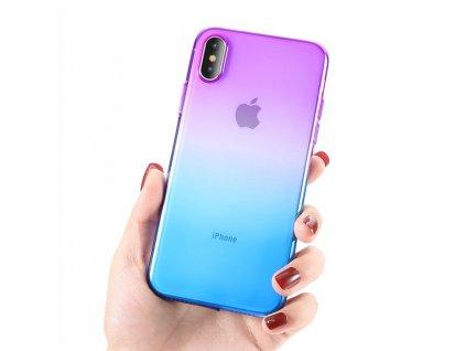 Innocent Rainbow Case iPhone XS Max - Purple - Blue
