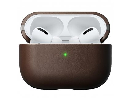 Nomad AirPods Pro Leather Case - Brown